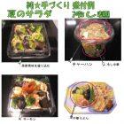 夏のサラダ、冷やし麺