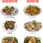 野菜料理・挽肉料理