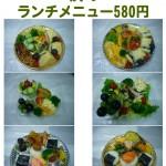 お惣菜の盛付