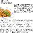 五穀とひじきの豆腐バーグ