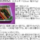 金時豆と春野菜の炒めもの