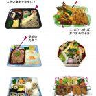 麺セット、お花見行楽