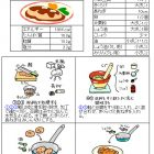鮭のハンバーグ-秋メニュー