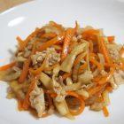 野菜ソムリエレシピ~大根とエリンギのオイスター炒め