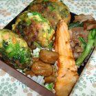 春♪菜の花おやき弁当〜我が家自慢のお惣菜・お弁当