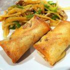 青椒肉絲の具をアレンジして春巻き〜我が家自慢のお惣菜・お弁当