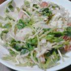 豆苗サラダ〜我が家自慢のお惣菜・お弁当