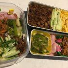 三色弁当〜我が家自慢のお惣菜・お弁当