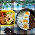 ドライカレーのお弁当〜我が家自慢のお惣菜・お弁当