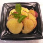 サツマイモのレモン煮(真空調理)