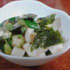 長芋とキュウリの梅和え〜我が家自慢のお惣菜・お弁当
