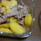新じゃがと豚肉のハニー炒め煮〜我が家自慢のお惣菜・お弁当