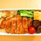 インパクト大!お腹いっぱいトンテキ弁当♡〜我が家自慢のお惣菜・お弁当