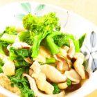 菜の花と椎茸と薄揚げの煮物〜我が家自慢のお惣菜・お弁当