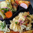 竹の子ご飯弁当➡春