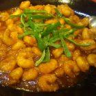 エビのチリソース煮(真空調理)