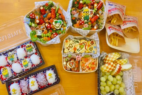 9月 運動会お弁当〜オブアート初挑戦〜我が家自慢のお惣菜・お弁当