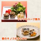 サンマのハーブ焼き・鯖のキノコおろしがけ~スチームコンベクションレシピ