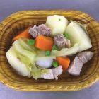 スペアリブと春野菜のポトフ(真空調理)