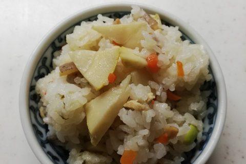 タケノコご飯〜我が家自慢のお惣菜・お弁当