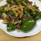 自家製野菜でチンジャオロース〜我が家自慢のお惣菜・お弁当