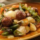 肉団子の酢豚風〜我が家自慢のお惣菜・お弁当