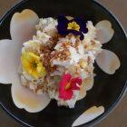 白菜の白和え~お花が咲いた!〜我が家自慢のお惣菜・お弁当