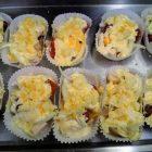 厚切りチキンと根菜のグラタン(真空調理)