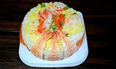 ひな祭りケーキ寿司➡管理栄養士おすすめレシピ